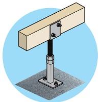 Bendigo Timber Brackets Hangers Anchors